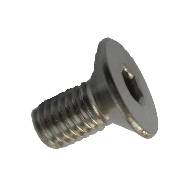 ISK DIN 7991 // ISO 10642 Senkschrauben mit Innensechskant VPE: 10 St/ück D2D M10x50 Senkkopfschrauben aus rostfreiem Edelstahl A2 V2A