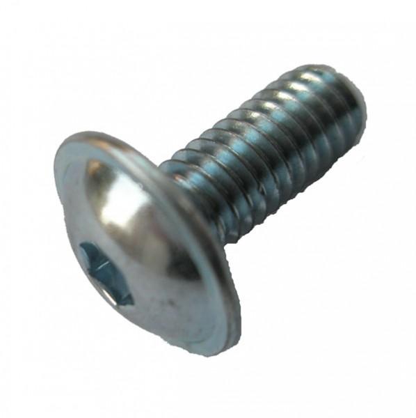 verschiedene Längen Linsenkopfschrauben ISO 7380 A2 Edelstahl SCHWARZ M6