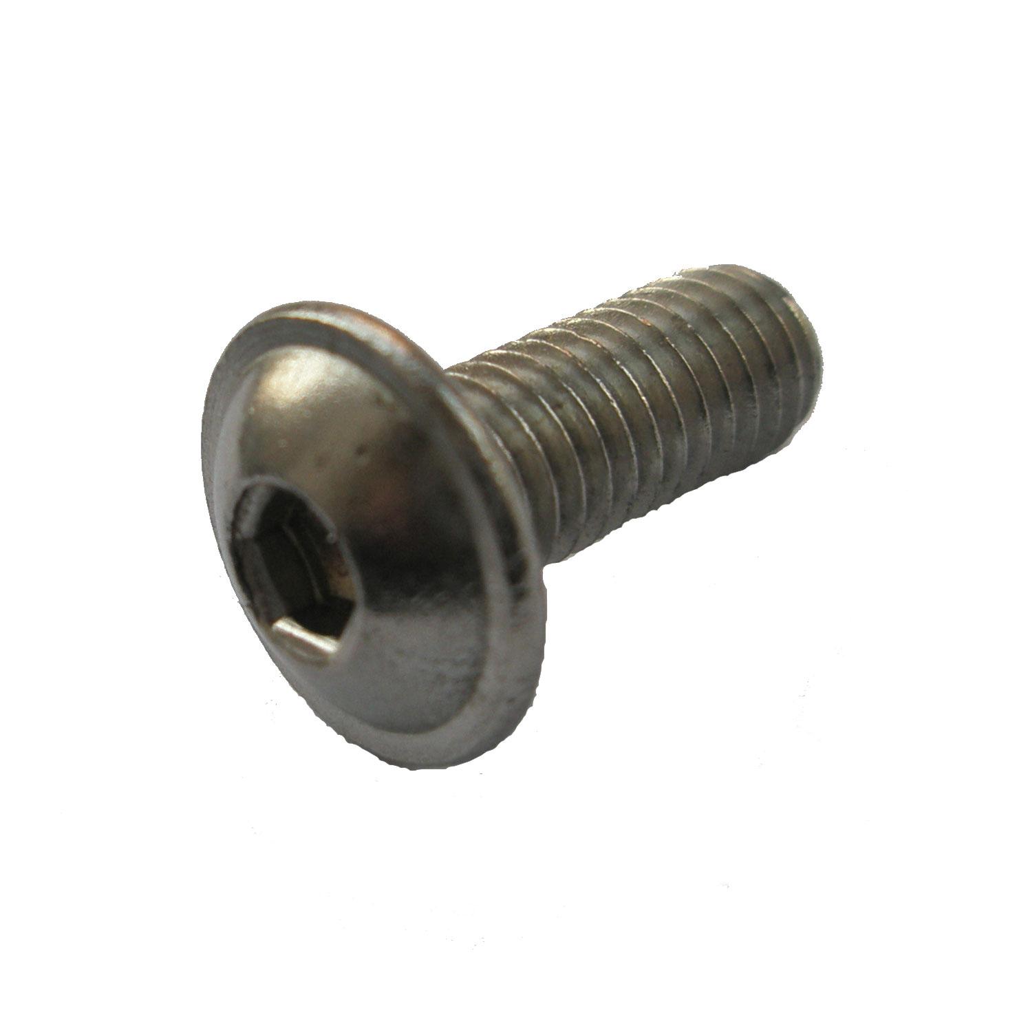 10, M3x8 mm A2 Edelstahl Linsenflanschkopfschrauben 10 St/ück Linsenkopf Schrauben mit Flansch M3x8 mm ISO 7380//2 V2A Innensechskant